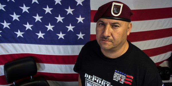 The Face Of Deported Veterans Is Finally Coming Home