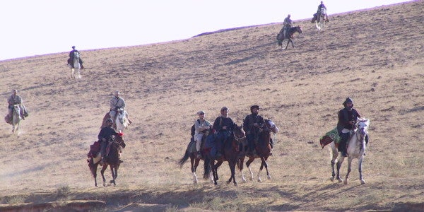'12 Strong' Vet: Fear Of God Unified The Horse Soldiers Who First Invaded Afghanistan