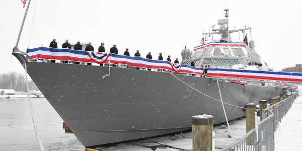 One Of The Navy's Newest Warships Is Coming Home After 3 Months Stranded In Canada