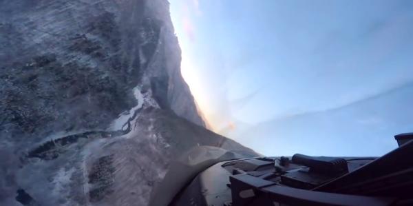 This F-16 Cockpit Video Captures Fantastic Ultra Low-Level Flying Over Japan