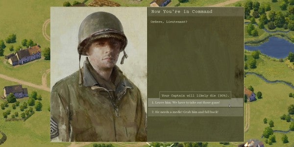 In This WWII Game You Have To Decide: Is The Mission Worth The Lives Of My Men?