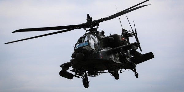 2 Soldiers Killed In An Apache Helicopter Crash During Training