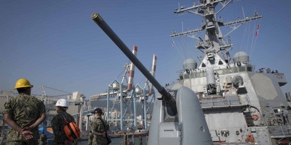 The Navy Just Called  Bulls–t On Reports That A US Warship Is Lurking In Syrian Waters