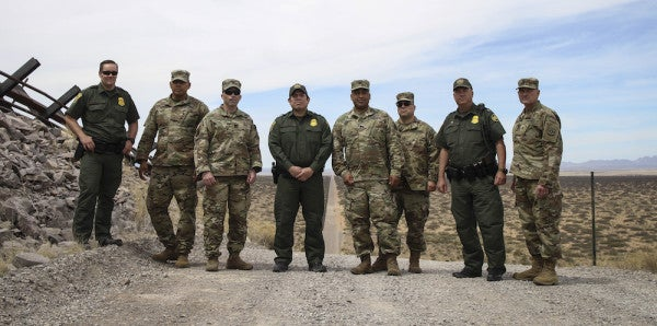 The 1 Thing The National Guard Won't Do At The US-Mexico Border