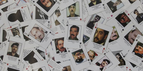 What The 'Most Wanted Iraqis' Deck Of Cards Can Teach Us About War