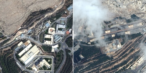 Before-And-After Satellite Photos Reveal Aftermath Of US Strikes On Syria's Chemical Weapons Sites