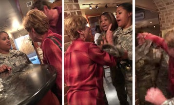 Woman's Bizarre Assault On 2 Army Captains In Georgia Restaurant Goes Viral
