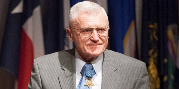 Medal Of Honor Recipient Wesley Fox Laid To Rest At Arlington National Cemetery