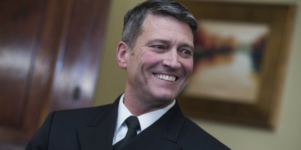 Ronny Jackson Was Allegedly Known As 'Candy Man' For Doling Out Prescriptions. He'll Fit Right In At The VA