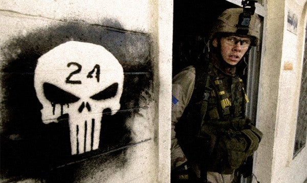 The Punisher And Spartans Are Apparently Too Threatening For One Powerful Army
