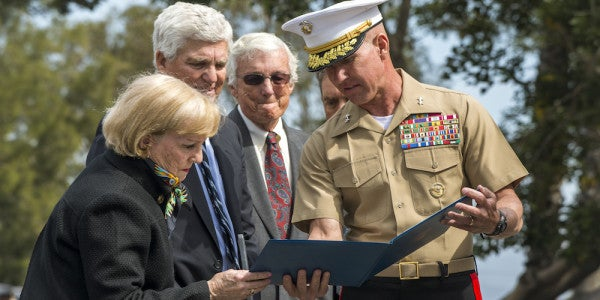 Marine Hero Receives Silver Star 51 Years To The Day After His Death In Vietnam