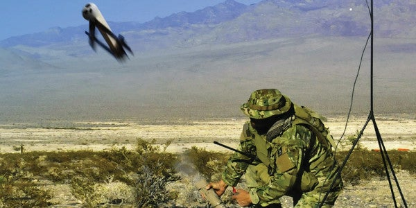 Marines Want A Man-Portable System That Fires Kamikaze Drones