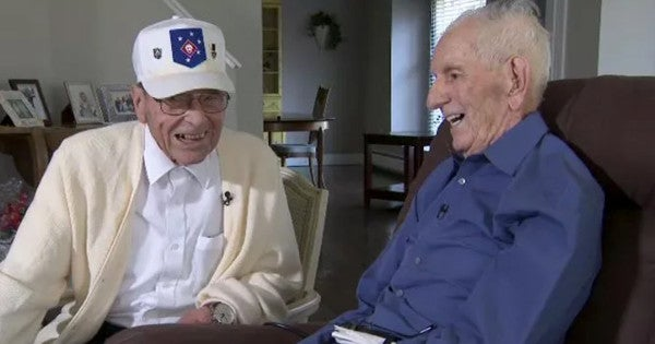 WWII Marine Gets His Dying Wish: To Meet Up With A Fellow Guadalcanal Veteran