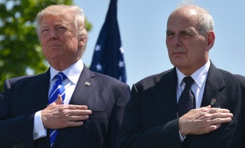 Report: John Kelly Stopped Trump From Pulling US Troops Out Of South Korea