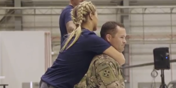 Watch UFC Superstar Paige VanZant Choke Out A Lucky US Soldier
