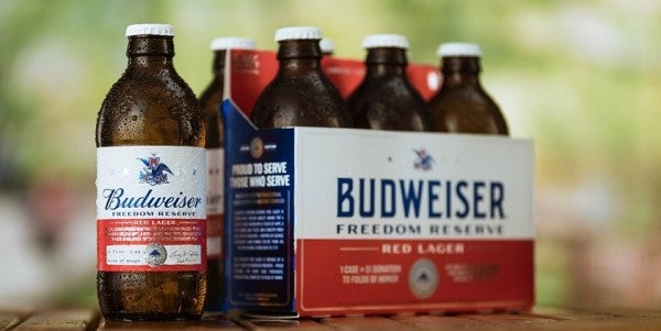 Budweiser Unleashes Patriotic Summer Brew Cooked Up By… George Washington