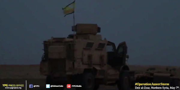 US-Backed Allies in Syria Are Now Rolling Deep In MRAPs
