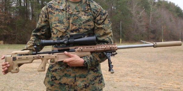 Marines Are Already Calling Their First New Sniper Rifle Since Vietnam 'An Incredible Win'