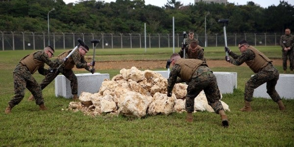 The Corps Is Turning Its Rock-Breaking Labor Camp Into Happy Camp