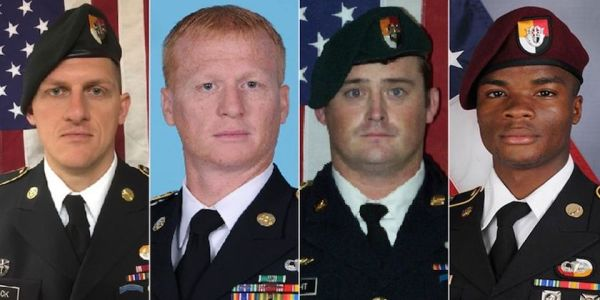 Fallen Soldiers May Receive Valor Awards After Botched Niger Mission