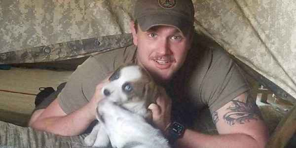 This Soldier Rescued A Puppy From A Garbage Pit In Afghanistan. Now He's Fighting To Bring Her Home