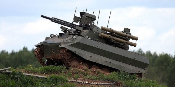 Russia Just Showed Off Its New Robot Tank — And Confirmed It Was On The Ground In Syria