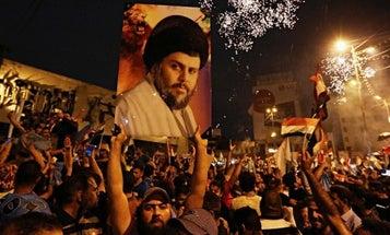 He's Back: Muqtada Al-Sadr Wins Big In Iraqi Elections