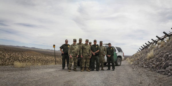 WTF: Guardsmen Can Patrol The US Border But Can't Look Across It?!