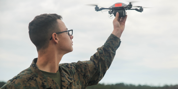 Marines Unveil New Badges For Drone Operators, As If They Weren't Already Cool Enough