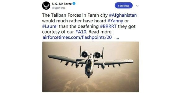 Who Really Gives A Sh*t About The Air Force's Dumb A-10 Tweet?