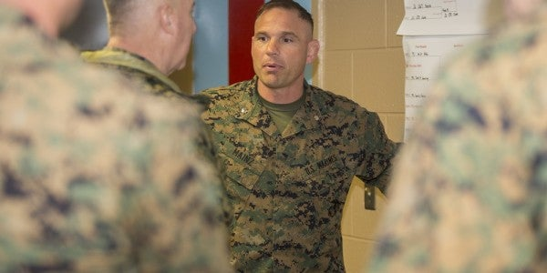 Marine Battalion Commander Based At Camp Lejeune Fired, Corps Won't Say Why