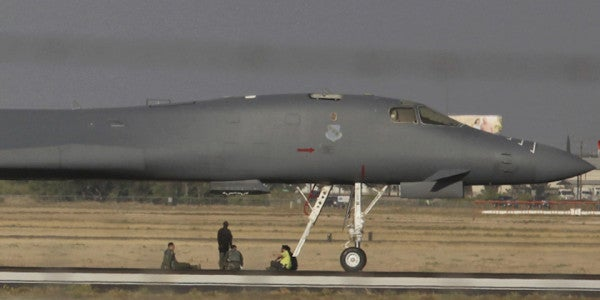 That Fiery B-1B Lancer Landing In Texas Was Reportedly A Commander's Worst Nightmare