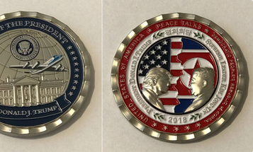 The Trump White House Has Given Us The Dumbest Challenge Coin Of All Time