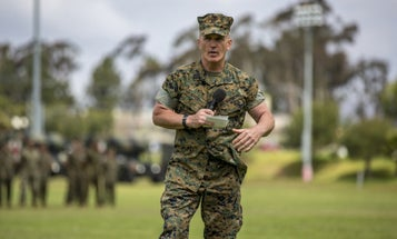 One Of The Marine Corps' Most Legendary Heroes From Iraq Just Retired