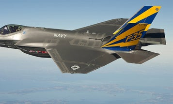The Navy's F-35 Flight Range Is Dangerously Low, Congressional Report Says