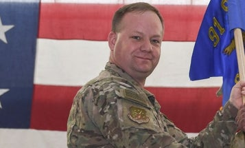 Air Force Fires Commander Of Security Unit That Lost Grenades, Machine Gun