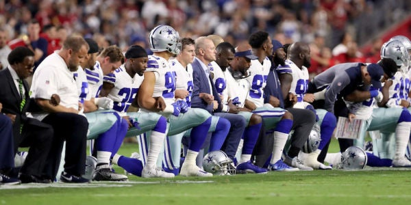 NFL To Players: Stand For The National Anthem Or Get Off The Football Field