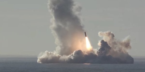 Watch Russia Flex Its Nuclear Muscles With A Sub Salvo Equal To '160 Hiroshimas'