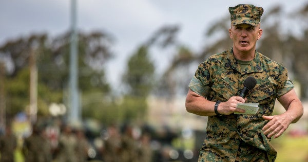 Legendary Sgt. Maj. Brad Kasal Praises His Marines As 'What Is Right About This Nation' In Humble Retirement Speech