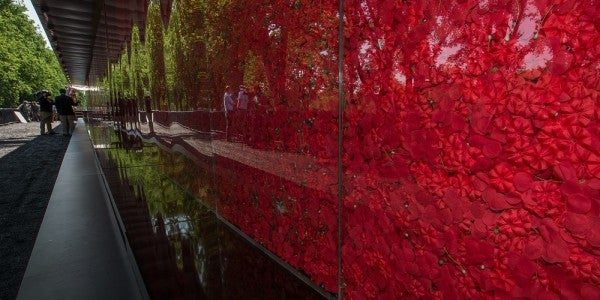 645,000 Poppies, Each Representing A Fallen Service Member, On Display At The National Mall