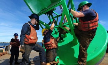 A Thief Is Stealing Coast Guard Bells And Gongs Right Off Of Buoys
