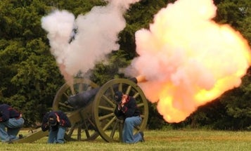 Yet Another Civil War Casualty, This Time By Cannonball Explosion