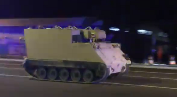 We Salute The National Guard Lieutenant Who Led Virginia Police On A High-Speed Chase In A Stolen M577