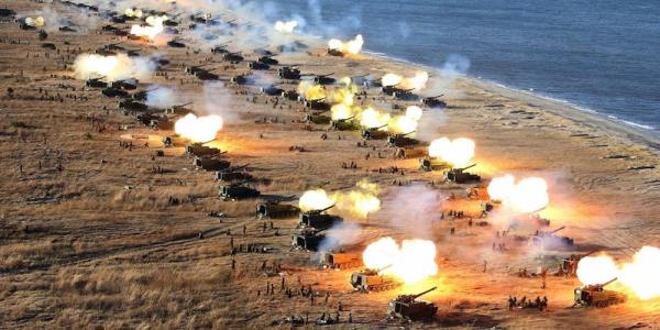 Here's Exactly Why War With North Korea Would Be Hell, According To New War Games