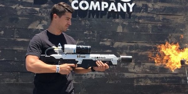 Elon Musk's Boring Company Flamethrower Has Finally Arrived — Just Don't Call It That