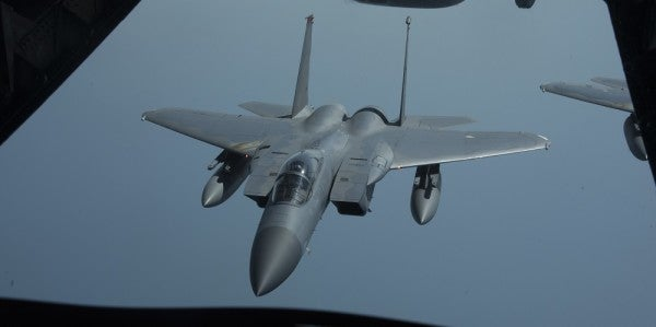 US F-15 Fighter Jet Crashes Off Coast Of Japan