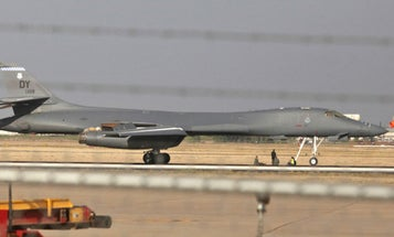 A B-1 Lancer Made An Emergency Landing Just Before The Air Force Grounded The Entire Fleet