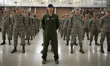 The Air Force may push some troops towards the reserves after hitting record retention numbers