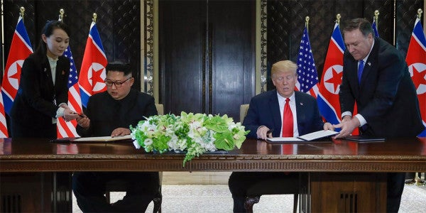 What If The Trump-Kim Summit Wasn't Really About Nuclear Disarmament?
