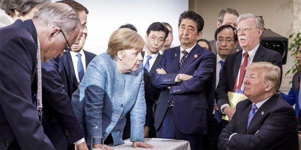 Trump Puts Crimea On The Table Amid A Veiled Threat To Abandon Germany